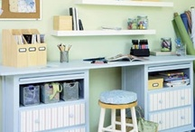 sewing room / by Danielle Johnson