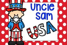 Uncle Sam / September 13th we honor Uncle Sam a key American Symbol. Your class will love exploring the history behind Uncle Sam and what he represents.