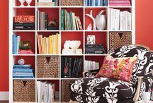 Interiors - Bookshelf Styling
