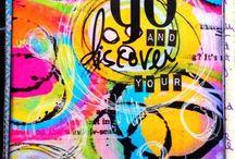 ARTist Luv~ Tracy Scott / by Kathie Gadd