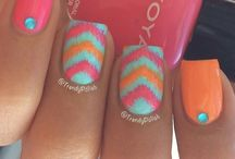 Nails  / Summers here a great time to paint your nails in any style