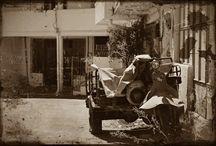 Crete on road