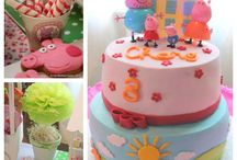 She's almost 4!! / Peppa pig party / by Alex Shelton