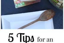 Entertaining DIY & Tips