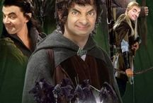 Mr Bean Photoshopped