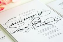 Paper goods: Inspirations / Inspired by everything paper goods - Wedding invites, programs, escort cards...