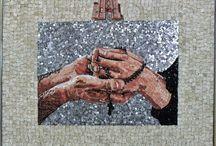 Mani / Opera d'Arte in Mosaico