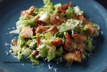 Salads / by Kanoe Agcaoili