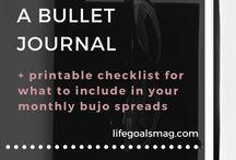 LIFESTYLE // BULLET JOURNALLING