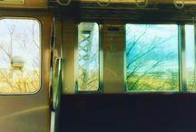 昼下がりの電車。 at a local train #railway #snapshot写真