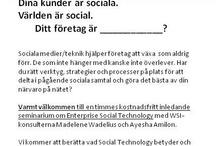 Enterprise Social Technology (EST) / Ett komplett digitalt marknadsföringssystem med WSI.
