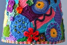 freeform crochet and knitting