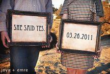 Engagement Announcements / Wedding, wedding planning, wedding how-to, wedding blog, wedding tips, wedding ideas, unique wedding, creative wedding, engaged, engagement, engagement announcement