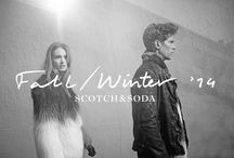 Scotch & Soda - F/W 14 / We proudly present the new collection by Scotch & Soda and Maison Scotch. Expect an exciting season full of beautiful prints, luxurious fabrics, Pied-de-poule, Paisley and jacquard weaves. A stylish and warm winter is coming your way!