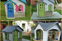 Garden house kids