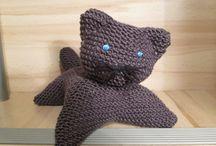 Tuto tricou chat en laine