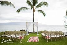 Sugarman Estate, Maui / Stunning ocean front estate available for weddings and receptions #mauiwedding #makenaweddings #reverendalterry