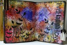 Art Journal - Tutorials / by Johoanna Robson