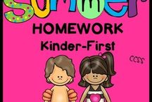 Summer Learning Fun / Learning activities for summer.