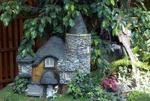 Fairy garden, house