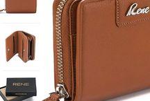Rene Genuine Leather Ladies Wallet
