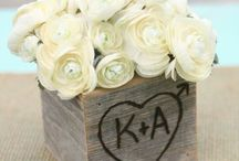 Wedding flower ideas / Wedding flowers and table ideas