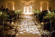 Wedding | Ceremony / Our modern Gallery Ballroom transforms into the wedding of your dreams.