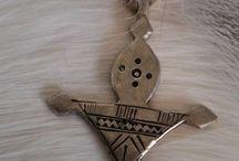 Silver Toeareg and Berber pendants / Silver Toeareg and Berber pendants