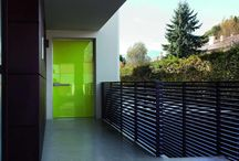 Colorful Doors / Modern front doors in many colors