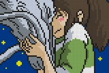 Anime cross stitch