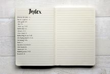 index agenda book