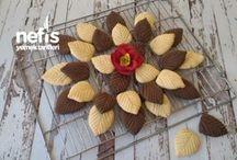 yaprak kurabiye tarifi lezzetli