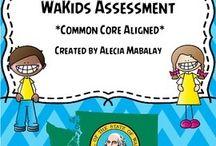 Kindergarten - WaKIDS / by Meg Murph