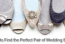 How to Find the Perfect Pair of Wedding Shoes / From picking a comfortable shoe to finding one that suits your style, there is a lot to consider with what you put on your feet for your special day.  http://www.kimberleyandkev.com/how-to-find-the-perfect-pair-of-wedding-shoes/