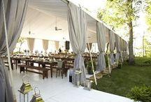 wedding tents / by Stefanie Miles
