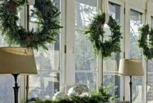 Rooms dressed for Christmas