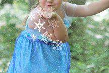 frozen theme shoot