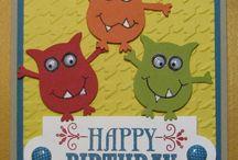 Kids Monster Cards