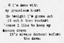 Lyrics i like!