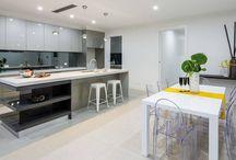 Modern Kitchen Designs | by Davis & Park, Adelaide / A selection of kitchens designed, built and installed for new homes in Adelaide | by Davis & Park Kitchen Specialists   www.davisandparkkitchens.com.au
