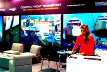 Boat Shows / Complete Marine Freight exhibit at Boat Shows around the world including Dubai, Singapore, London and Monaco.