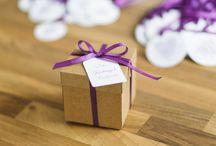 Gift ideas for a bride and wedding guest / Prezenty dla świadkowej i gości weselnych