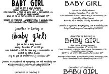 Babyshower Ideas / by Create With La'Diva