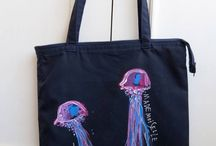 Jellyfish Tote Bag / A bag for everything & forever