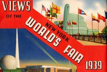 VIEWS OF THE NEW YORK WORLD'S FAIR 1939 / Litographed by The Grinnell Lithographic Co. Inc. N.Y.C. - Copyright 1939 - Brochure cm. 29 x 21,5 - 32 pages (Item Estimated Value USD 50,00)