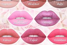 All about lipstick