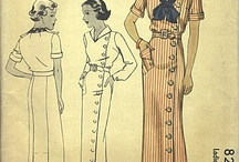 Inspiration for 1930s Dresses I Want to Make