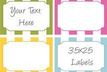 Technology: Labels / by Karen McDavid