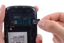 Sustitución de la tarjeta microSD del Samsung Galaxy S3 / Para sustituir microSD de Galaxy S3, siga los pasos siguientes.