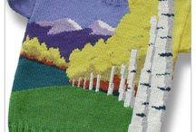 Живописное вязание